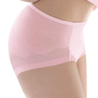 瑪登瑪朵 輕生活‧好酷塑  輕機能低腰三角塑腹褲(嫩透粉)