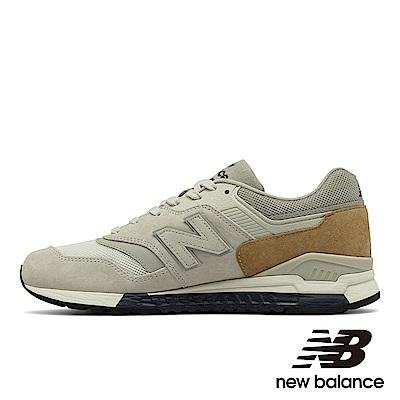 New Balance 復古鞋ML997HCB-D男性駝色