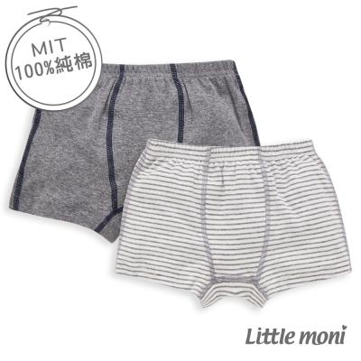 Little moni 純棉家居系列男童四角內褲2入組(共3色)