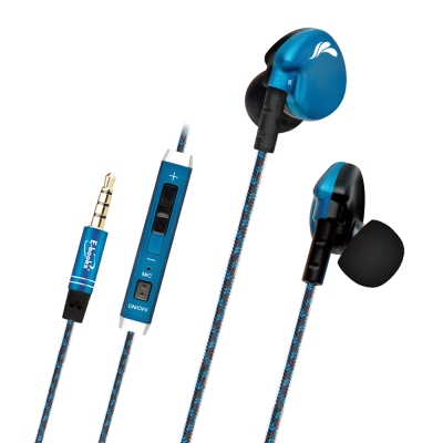 E-books S41 運動型音控接聽耳道式耳機