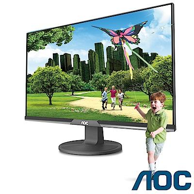 AOC 21.5吋 IPS(黑)液晶顯示器 I220SWH