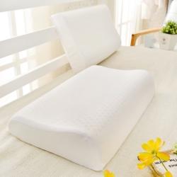 Grace Life 完美舒眠 人體工學型透氣100%天然乳膠枕-一顆