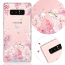 YOURS 三星 Galaxy Note8 奧地利彩鑽防摔手機殼-花享