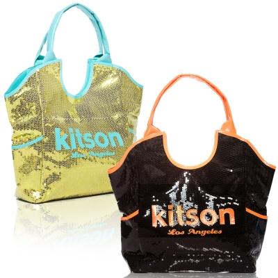 Kitson 雙色亮片托特包均一價$1999