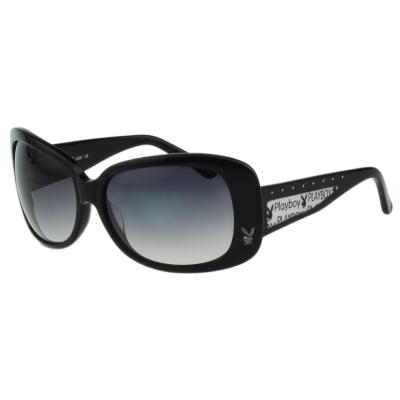 PLAYBOY-時尚太陽眼鏡-黑色-PB83009