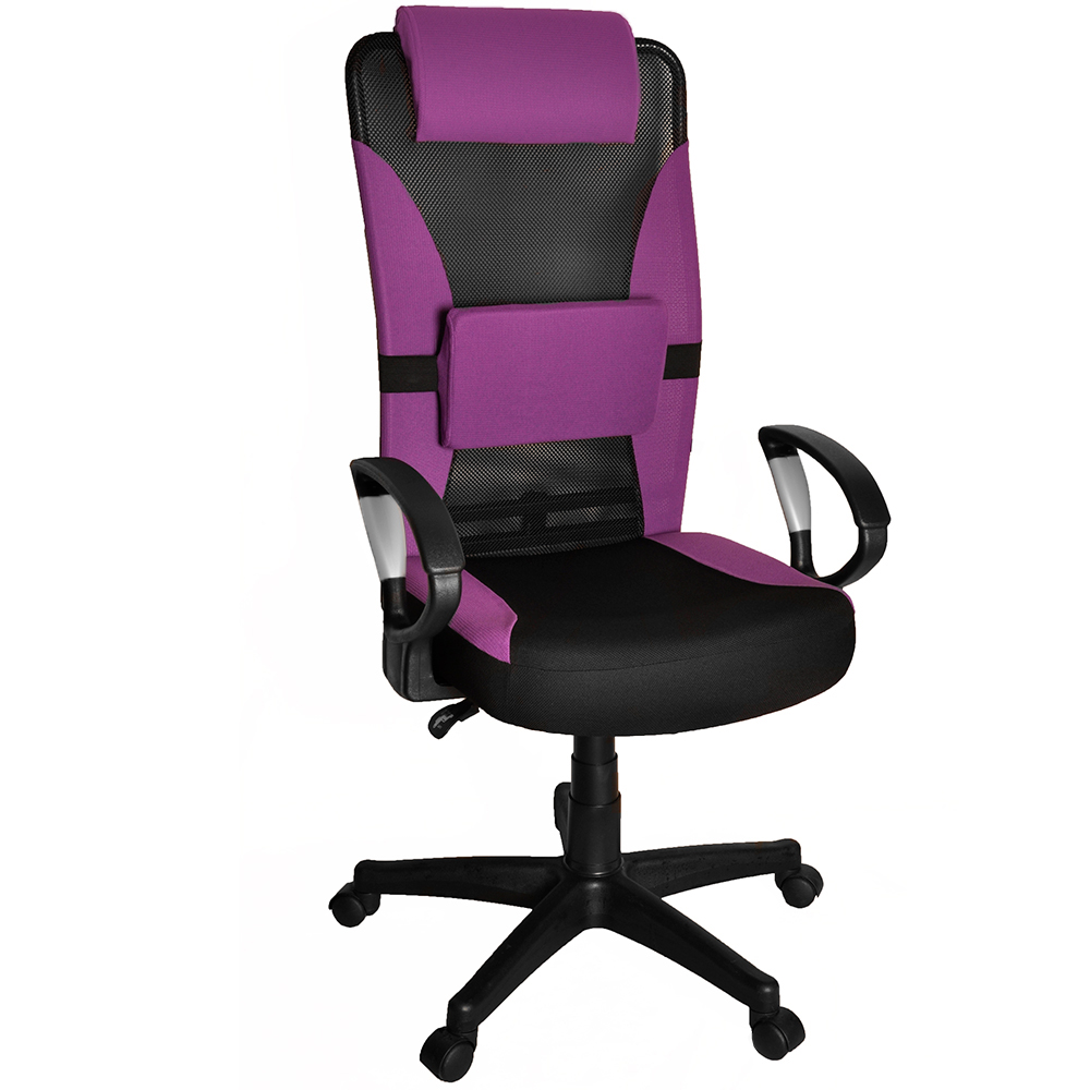 Toyz高級透氣辦公椅/電腦椅-附護腰墊