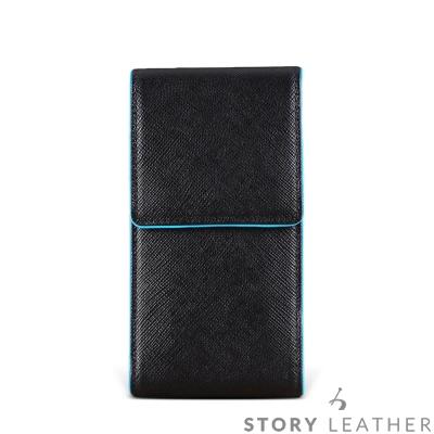 SONY XZs / XZ Premium 直式雙碰邊骨線 客製化皮套