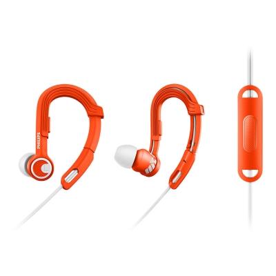 PHILIPS 飛利浦 SHQ3305OR/00(橘)ActionFit運動耳塞式耳機