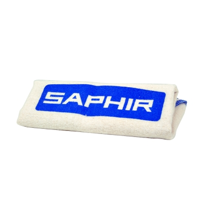 【SAPHIR莎菲爾】棉質擦拭布- 仿麂皮棉布,用於保養、上色和拋光,質地細緻不傷害皮革,