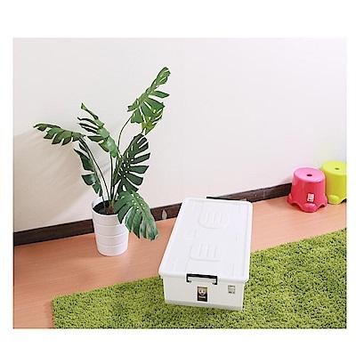 HOUSE 床下-整理箱(附蓋)-3入