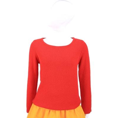 Max Mara-WEEKEND 紅色針織長袖上衣