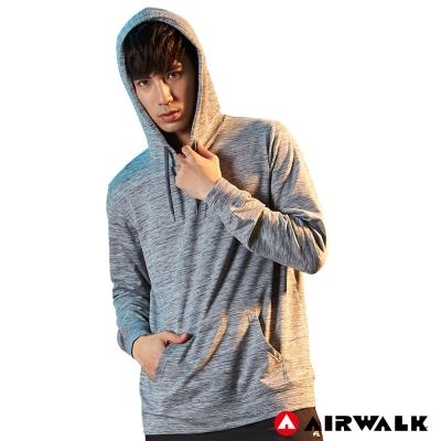 【AIRWALK】男款連帽長袖T恤-共兩色