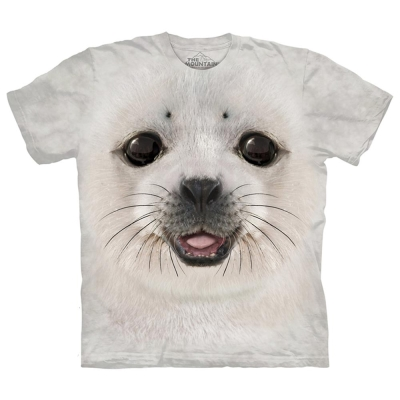 摩達客 美國進口The Mountain 海豹寶寶 純棉環保短袖T恤