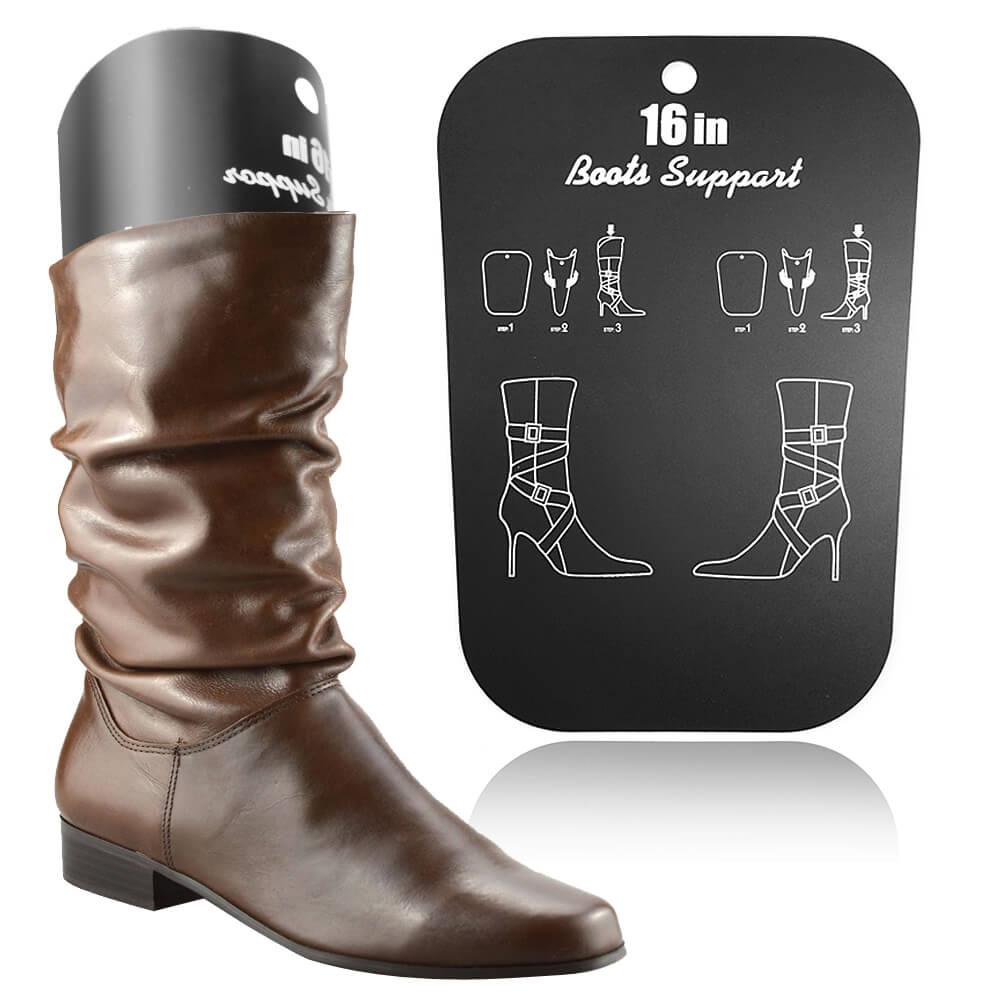 足的美形 高筒馬靴靴撐片16吋(5雙)