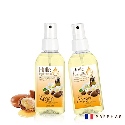 (買一送一)法國PREPHAR潤澤修護髮油/阿鞏油100ml