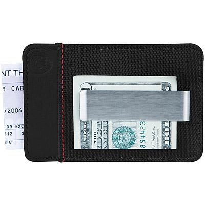 TRAVELON 網拼防護證件鈔票夾(黑)