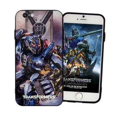 正版授權 變形金剛5 iPhone6/ 6S Plus 5.5吋 雙料浮雕保護殼...