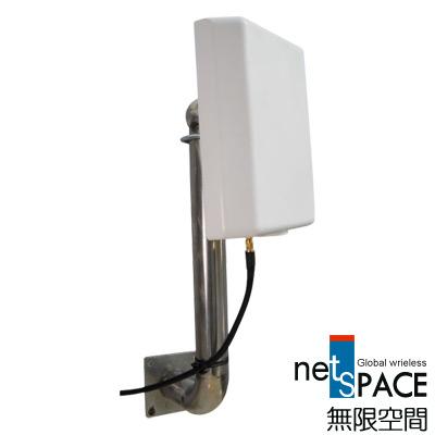 無限空間Wi-Fi戶外型2.4 GHz指向性高增益天線WOA-2621S