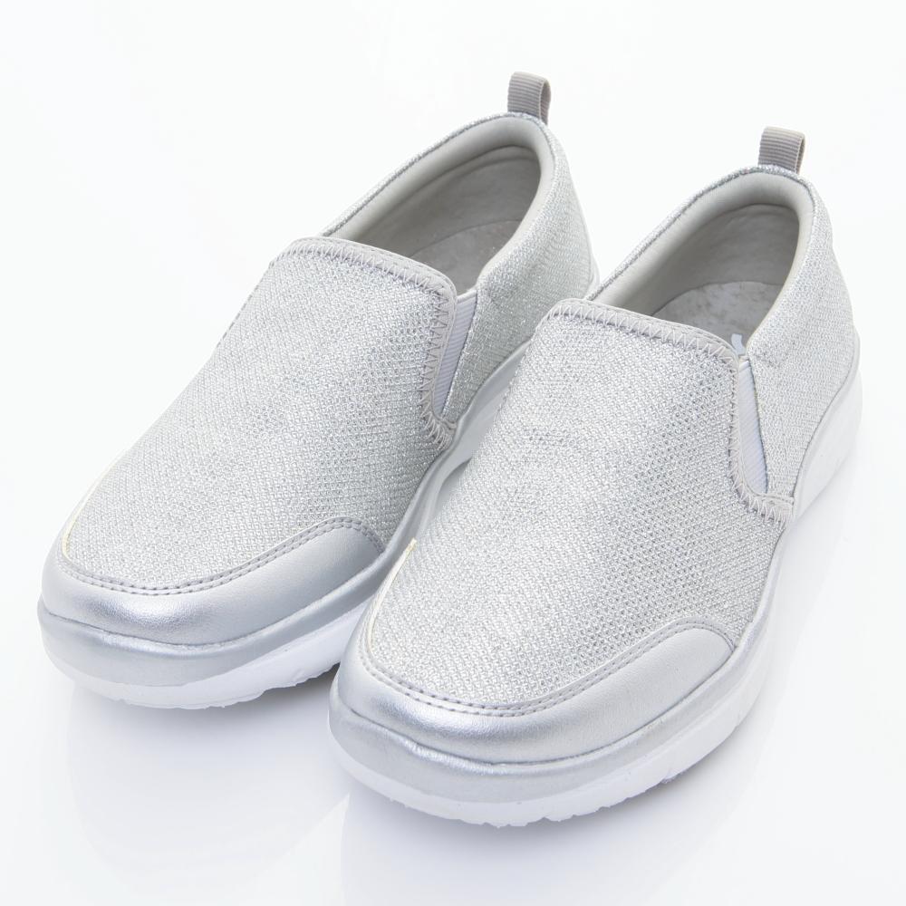 Xcess-女休閒鞋GW027SIL-銀