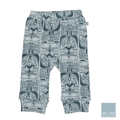 美國 FINN & EMMA 有機棉長褲 (圖騰Boy)