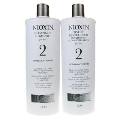 NIOXIN 耐奧森(儷康絲) 2號組合潔髮乳+甦活乳1000ML 公司貨