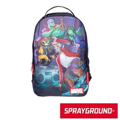 SPRAYGROUND DLX 聯名系列 星際異攻隊跳街舞 潮流筆電後背包