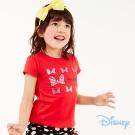 Disney米妮蝴蝶結甜美上衣 紅色