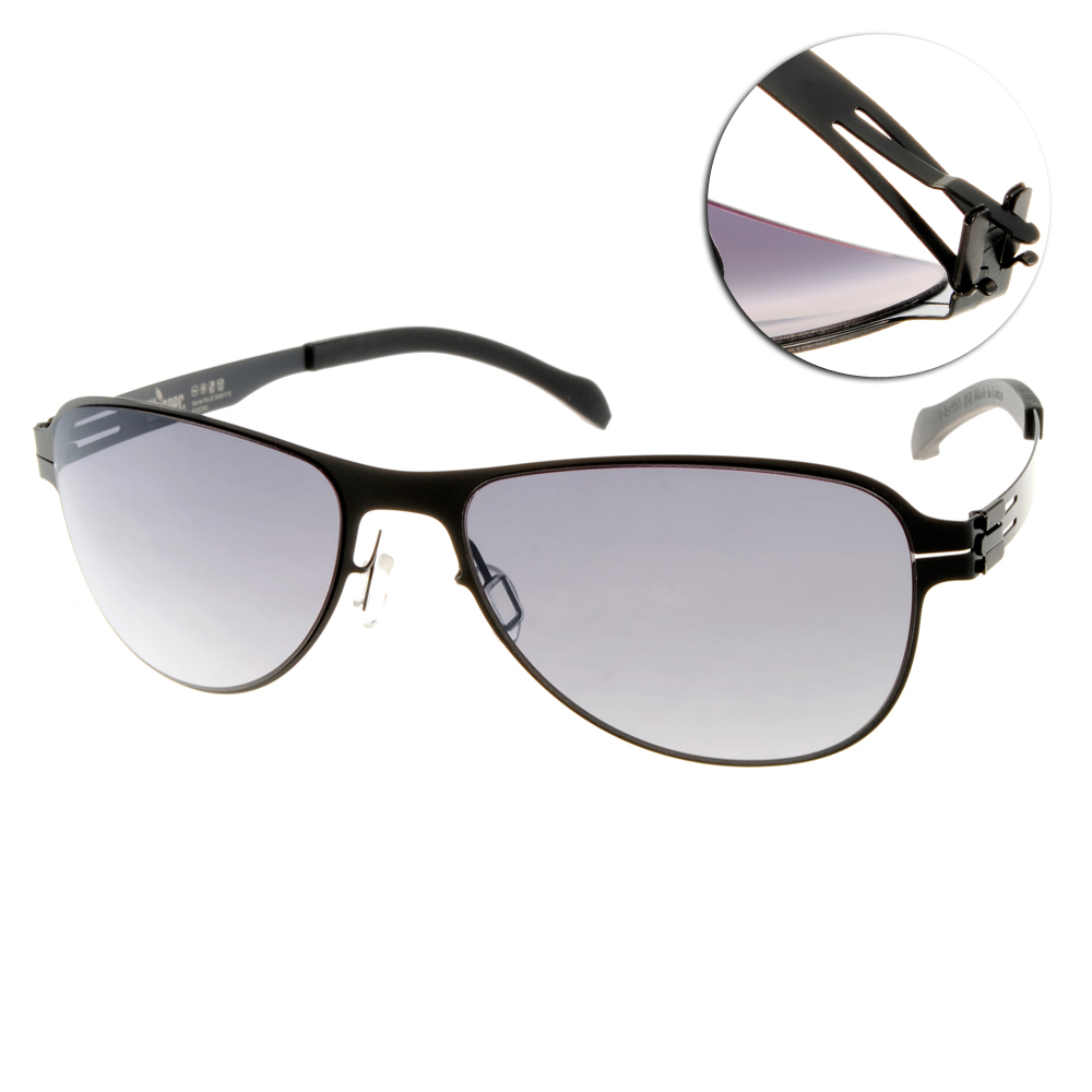 Whisper太陽眼鏡 薄翼鏡框/霧黑#WHM0003S C02