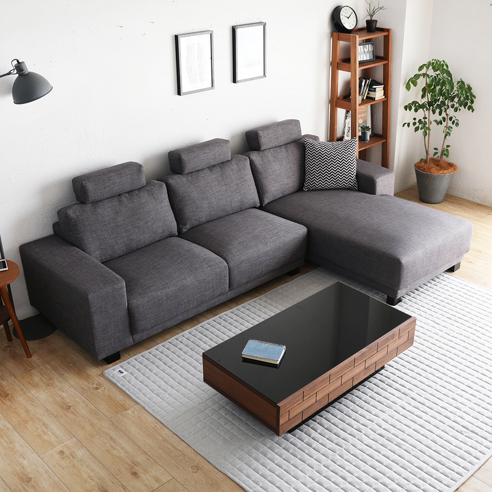 ELTON艾尼頓簡約舒適L型布沙發