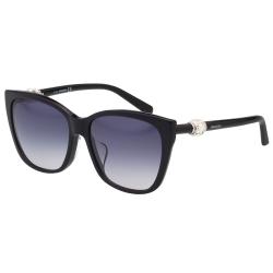 SWAROVSKI太陽眼鏡-水鑽造型-黑色SW129F