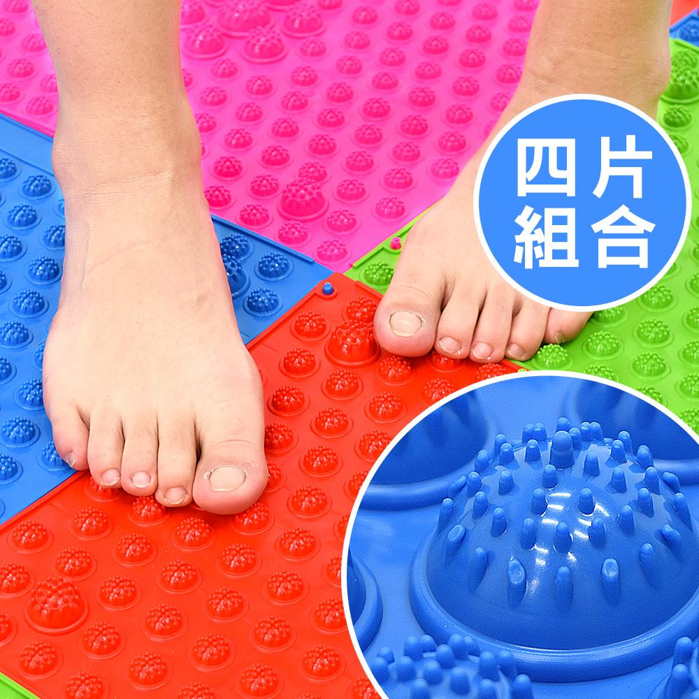 TPE指壓板腳底按摩器(4片)