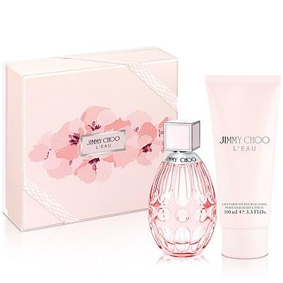 JIMMY CHOO戀曲女性淡香水禮盒-送紙袋+針管隨機款
