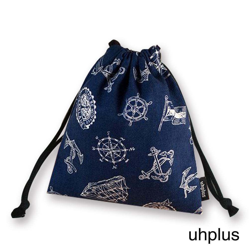 uhplus 迷你束口袋- 航海計畫(藍)