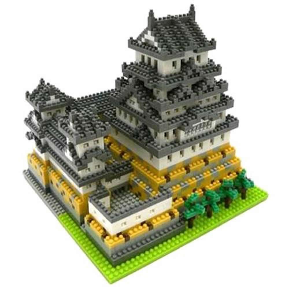 Nano Block迷你積木 NB-006日本 姬路城