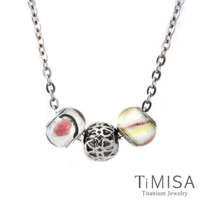 TiMISA 心的方向 純鈦串飾 項鍊