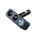 YAC 4.8A調整型雙孔雙USB插座(PZ-710)