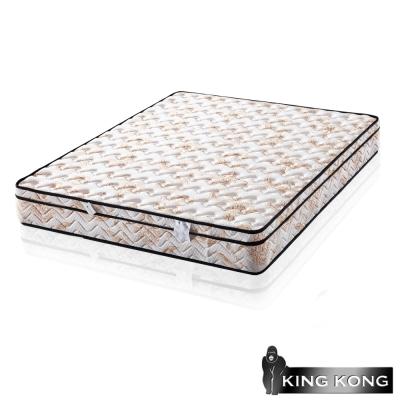 金鋼-三線主打天絲棉加強護背型3-0硬式彈簧床墊-單人特大4尺