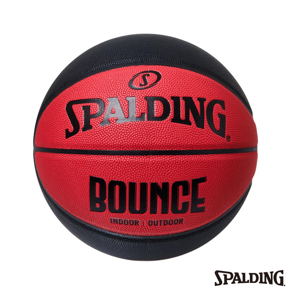 SPALDING 斯伯丁 Bounce 籃球 PU 7號 紅/黑