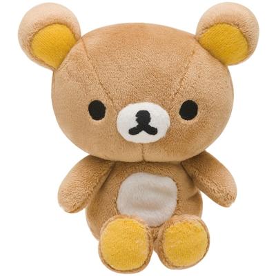 拉拉熊滿滿懶熊生活系列手掌公仔。懶熊