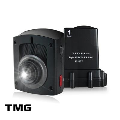 TMG DR5 GPS行車紀錄器+分離式全頻雷達-快