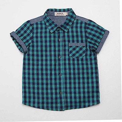 PIPPY 休閒格子襯衫 綠
