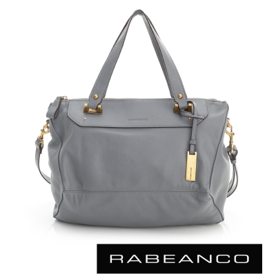 RABEANCO OL時尚粉領系列菱形包(中) - 暗灰藍