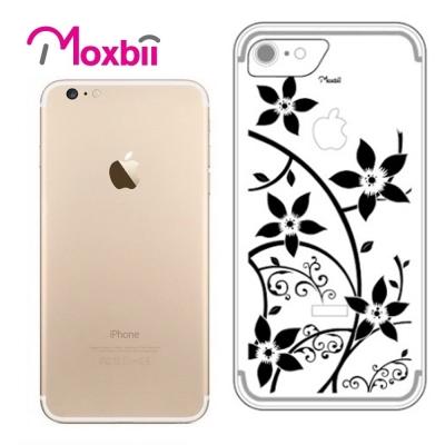 Moxbii iPhone 7 4.7吋 simpOcase光雕殼-花影重重