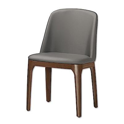 Bernice-維丹現代餐椅/單椅(兩色可選)-48x61x83cm