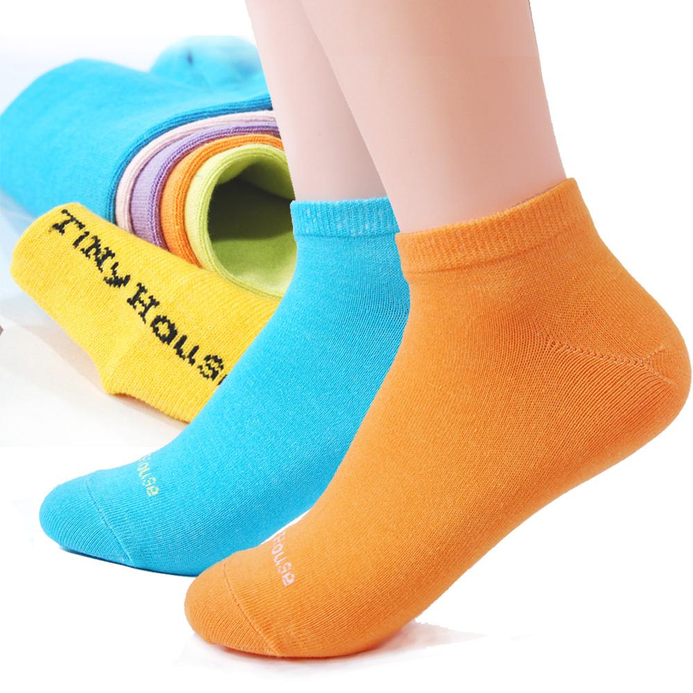 TiNyHouSe 舒適襪系列 colors乾爽透氣超短襪一雙入(六色可選)