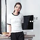 東京著衣-KODZ 菲菲聯名印字多色棒球T恤-S.M.L(共三色)