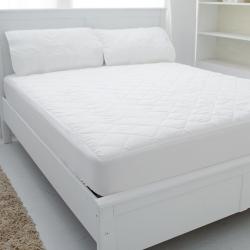 eyah宜雅 台灣製超防水加厚舖棉保潔墊-床包式-單人-3.5尺
