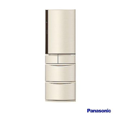 Panasonic 國際牌 430L日製五門 變頻電冰箱 NR-E430VT-N1