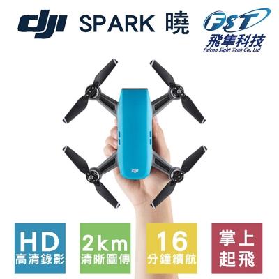 DJI SPARK空拍機 全能套裝 晴空藍(飛隼公司貨)+基礎飛行課程