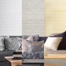 韓國3D立體DIY仿磚紋壁貼/仿文化石紋壁貼_單捲 (3色任選)
